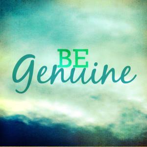 Be-Genuine