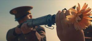 flower in gun
