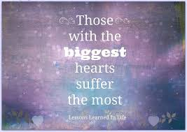 biggest sufferers